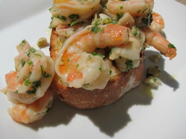 White Bean Shrimp Scampi 2
