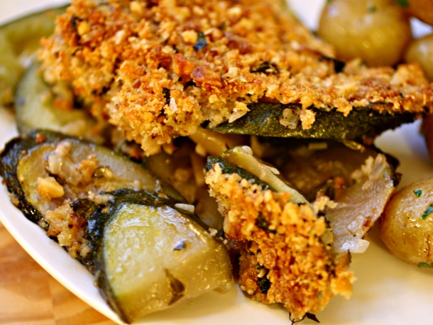 French in a Flash: Lighten Up Summer Zucchini Gratin ...