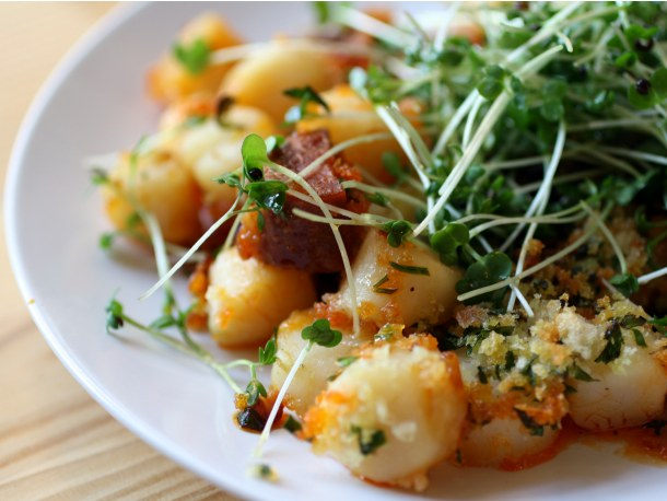 Dinner for Two: Crispy Broiled Scallops and Chorizo | French ...