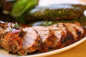 Gingerly Roast Pork with Thyme