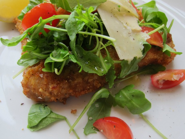 Veal Milanese in a Flash with Arugula Salad | French Revolution