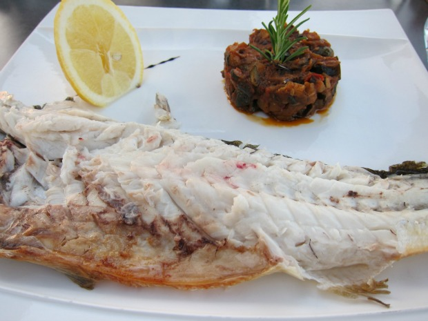 La Ciotat Sea Bass with Ratatouille