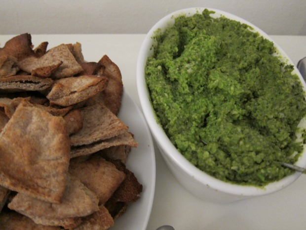 Mushy Pea and Mint Dip