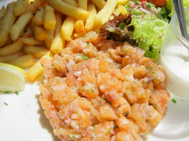 Paris Salmon Tartare