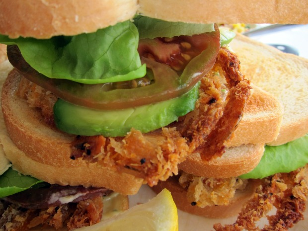 Crispy Soft Shell Crab Sandwiches