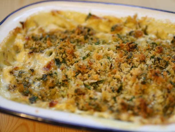 Fennel Gratin Straight from the Oven