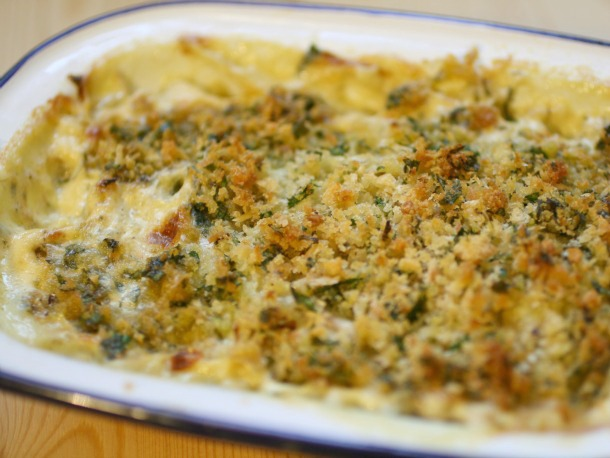 Fennel Gratin Tray