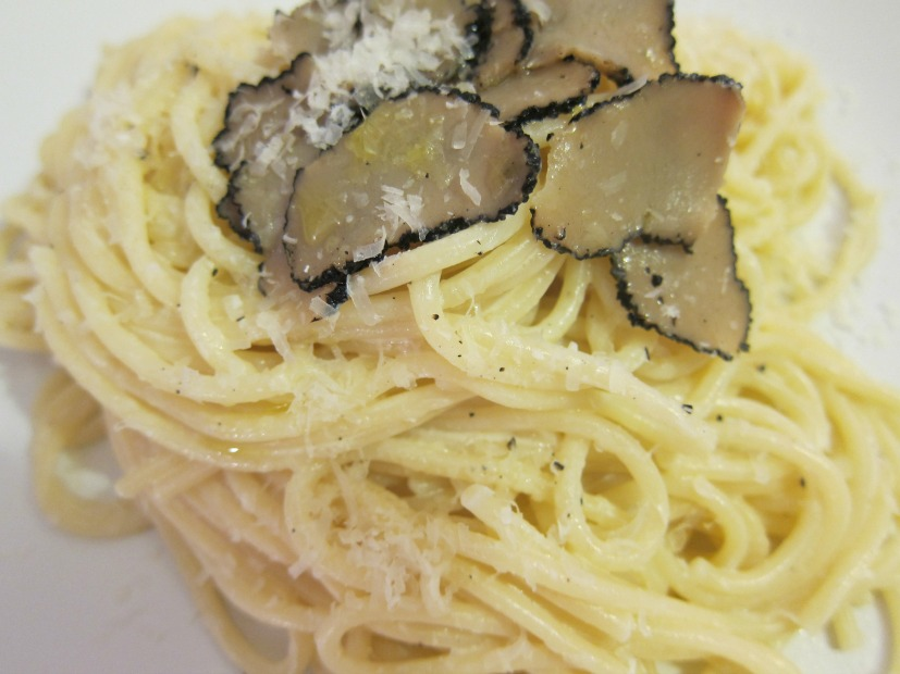 Millionaire's Spaghetti with Truffles