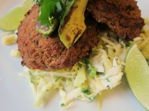 Spicy Bean Cakes