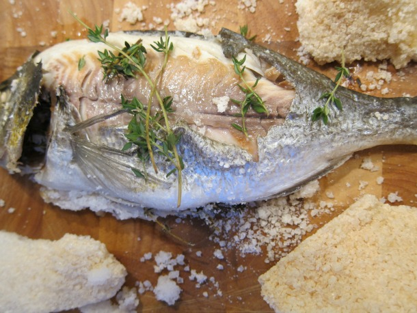 Salt-Baked Bream