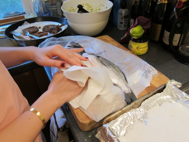 Salt-Baked Fish Stuffed with Herbs and Lemon | French Revolution