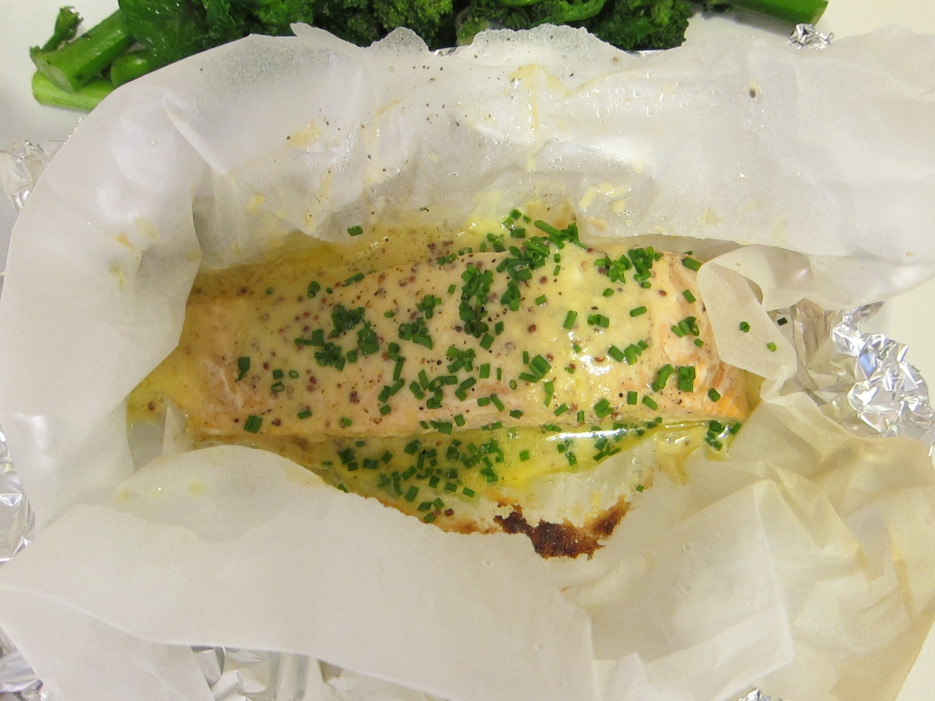 Maille Honey Mustard Salmon