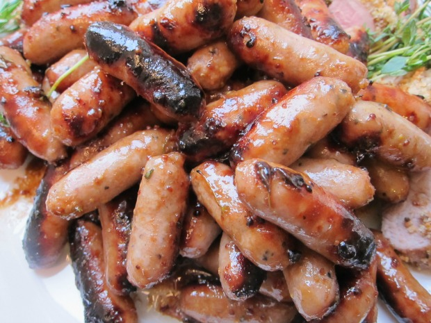 Maille Honey Balsamic Sausages Small