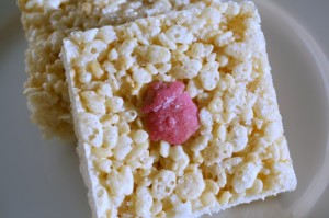 Rose Crispy Treats