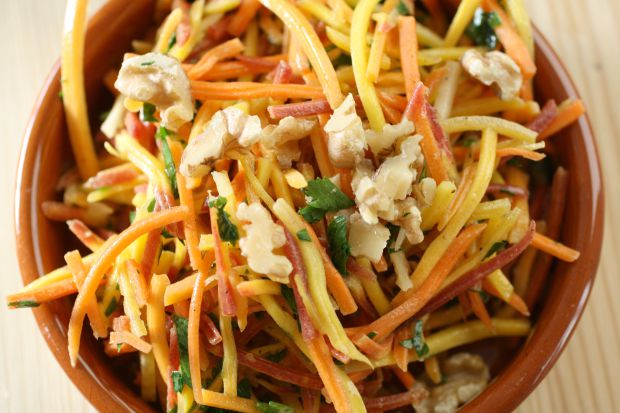 Carrot Walnut Salad