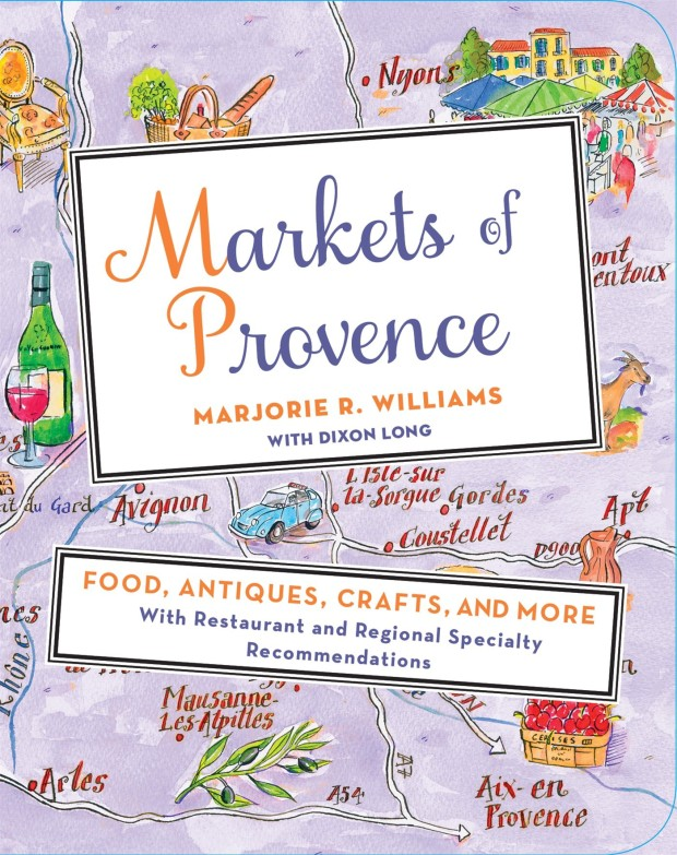 Markets of Provence Book Jacket
